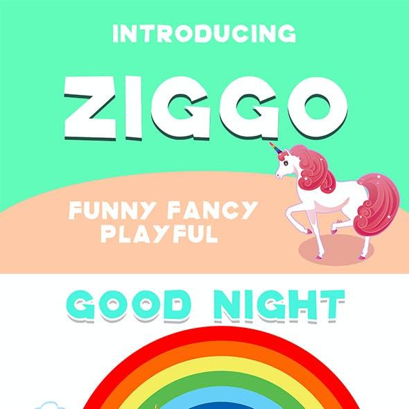 Ziggo Display Font