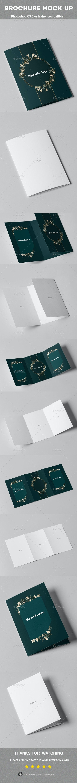 Brochure Mock-up - Brochures Print Templates
