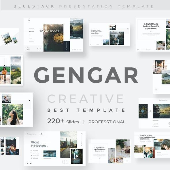 Gengar Premium Keynote Template