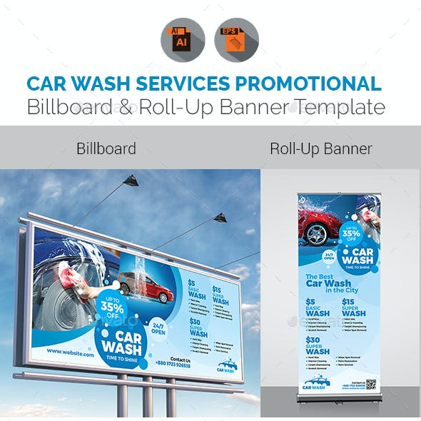 Car Wash Signage Bundle
