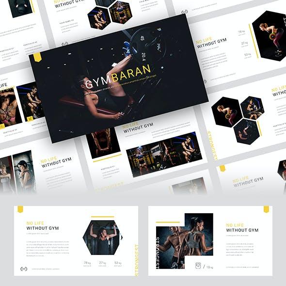 Gymbaran - Gym Keynote Template