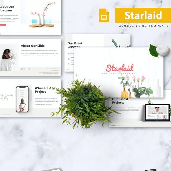 Starlaid - Minimal Google Slides Template