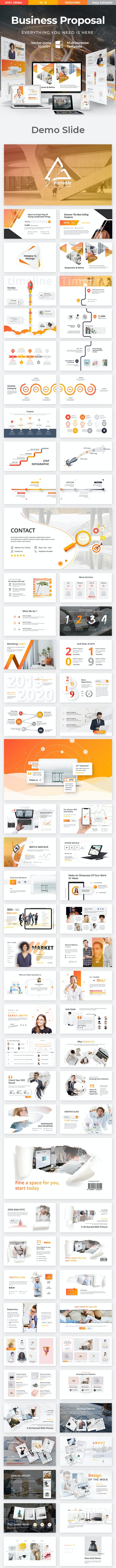 Variable Business Keynote Template - Business Keynote Templates