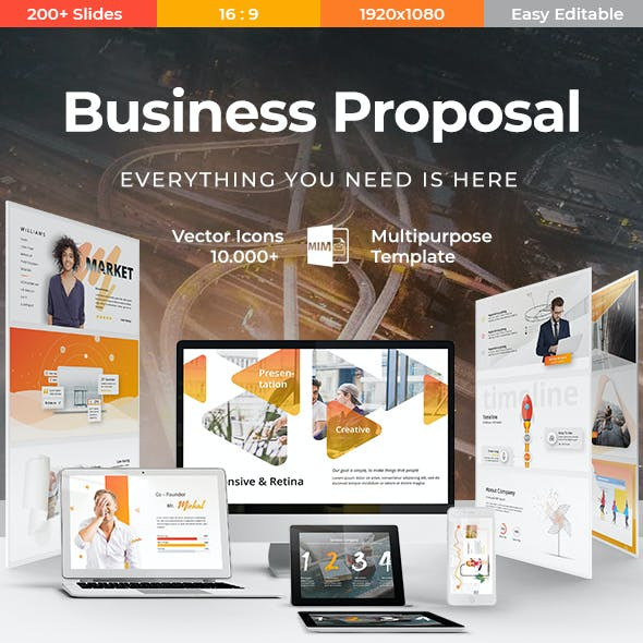 Variable Business Keynote Template