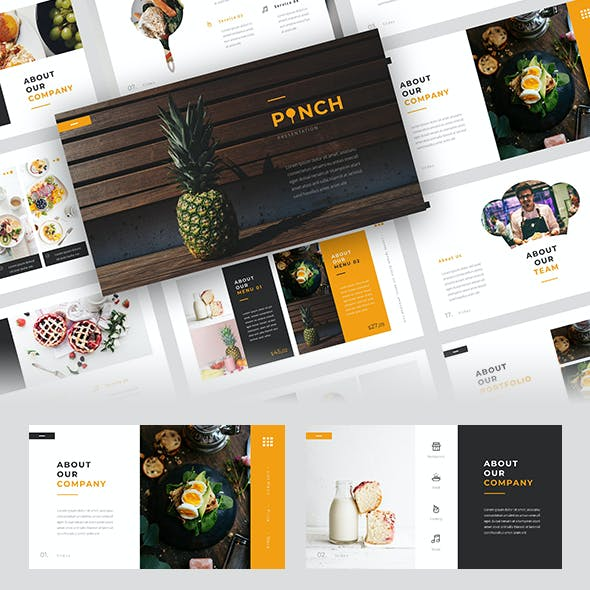 Pinch - Food PowerPoint Template