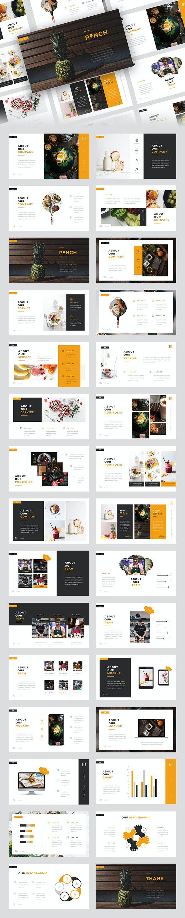 Pinch - Food Keynote Template - Business Keynote Templates