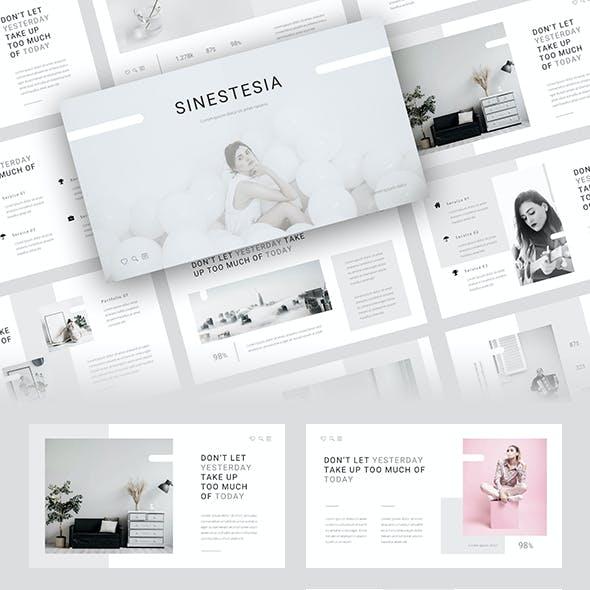 Sinestesia - Magazine PowerPoint Template