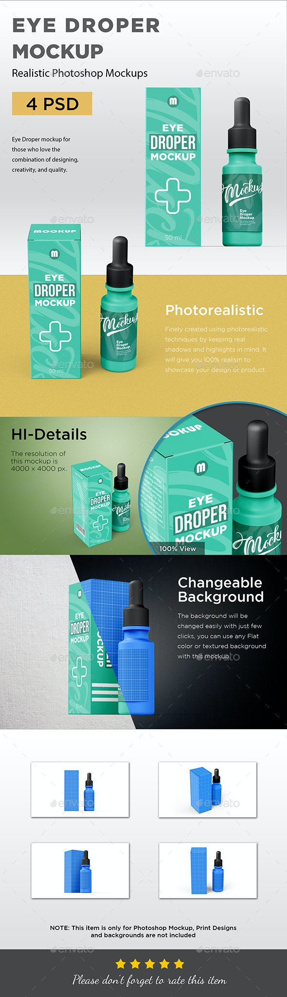 Eye Dropper Mockup - Miscellaneous Packaging