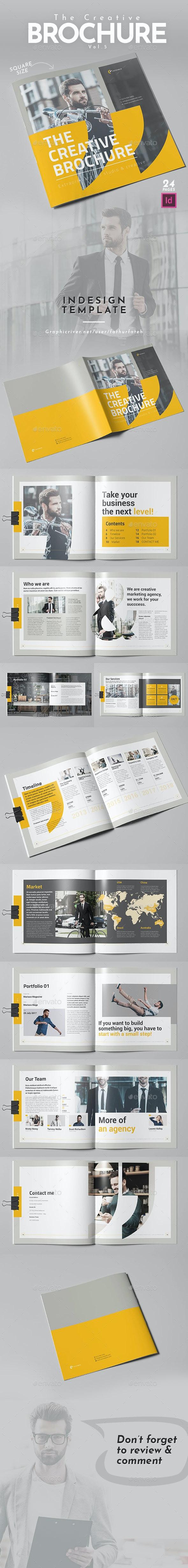 The Creative Brochure Vol.5 - Square - Corporate Brochures