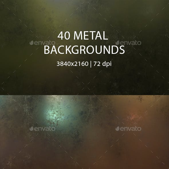 40 Metal Backgrounds