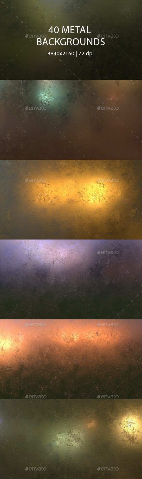 40 Metal Backgrounds - Urban Backgrounds