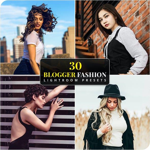 30 Blogger Fashion Lightroom Presets