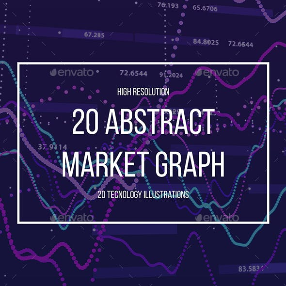 Abstract Stock Market Graph