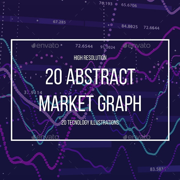 Abstract Stock Market Graph - Abstract Backgrounds