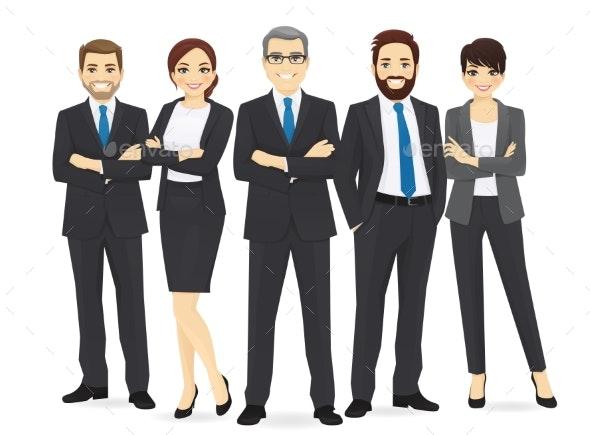 Business Team Set - Concepts Business
