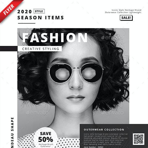 Fashion Item Business Flyer