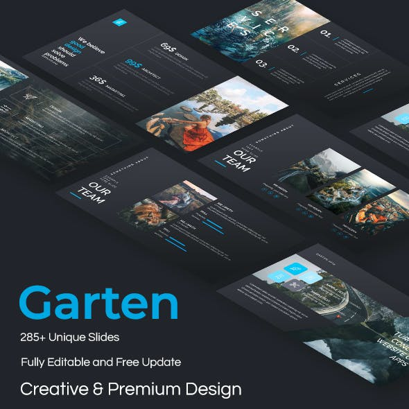 Garten Creative Design Keynote Template
