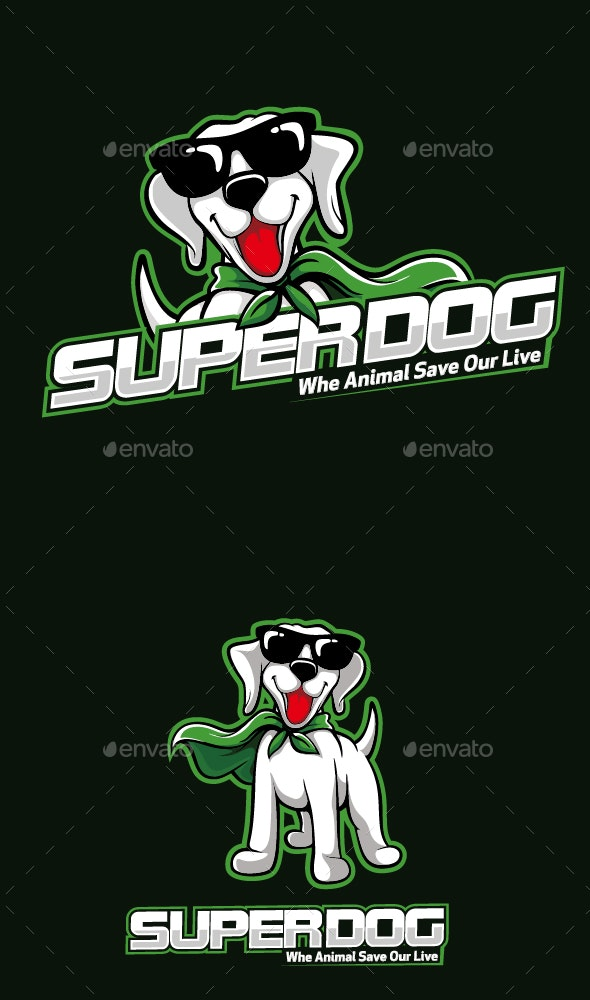 Super Dog - Animals Characters