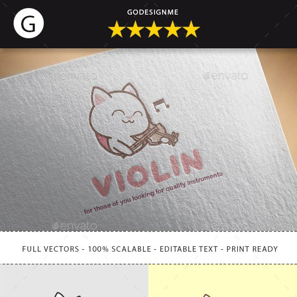 Violin Logo Templates From Graphicriver