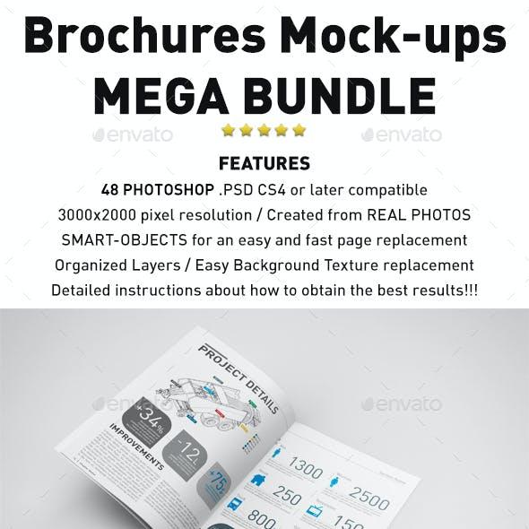 Photorealistic Brochures Mockups Bundle
