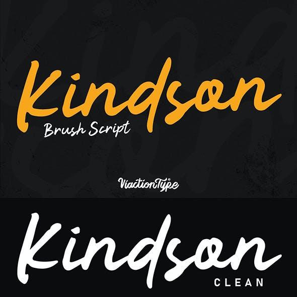 Kindson Brush Script