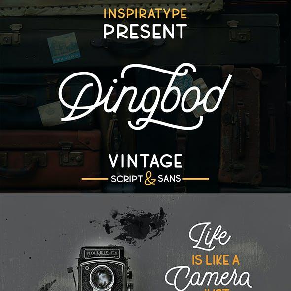 Dingbod Duo - Script and Sans