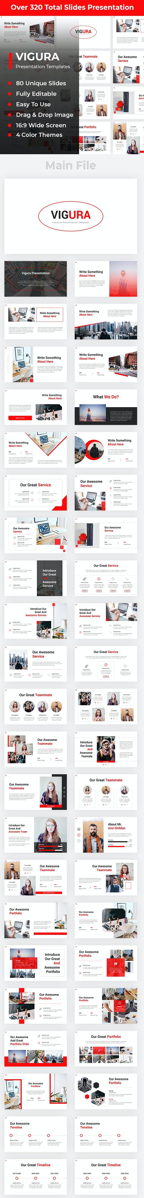 Vigura Creative PowerPoint - Creative PowerPoint Templates