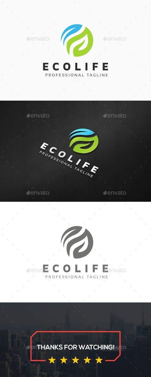 Eco Life Logo - Nature Logo Templates