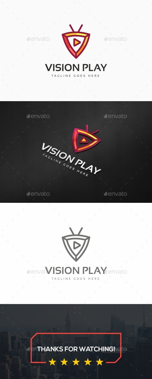 Vision Play Logo - Symbols Logo Templates