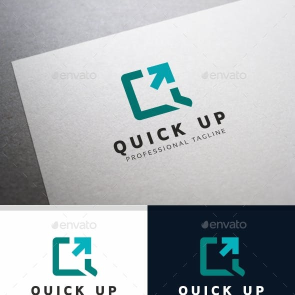 Q Letter - Quick Up Logo