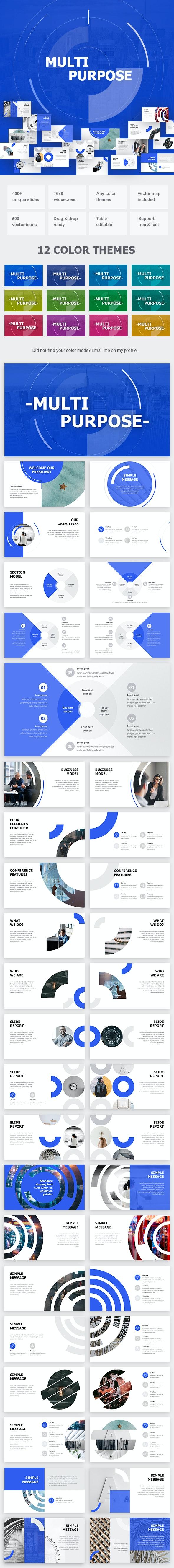 Multipurpose Powerpoint - Business PowerPoint Templates