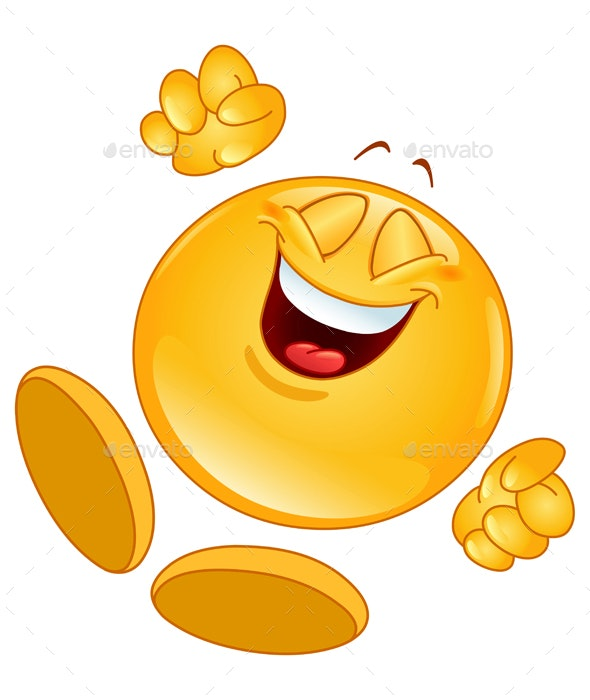 Cheerful Emoticon - People Characters