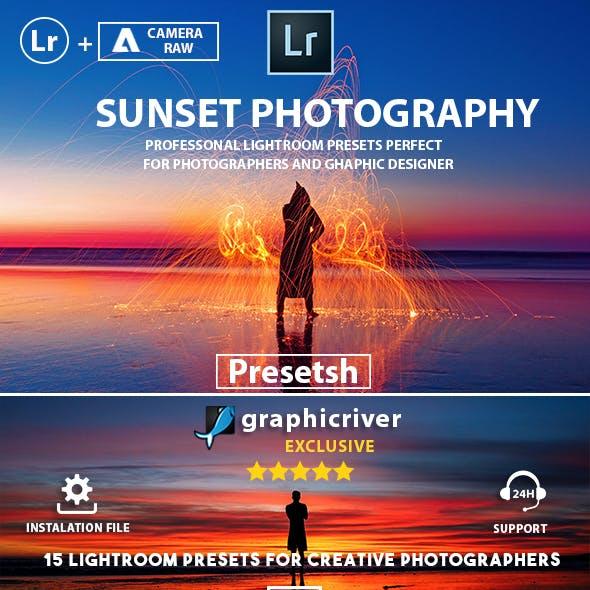 15 Pro Sunset photography Lightroom Presets