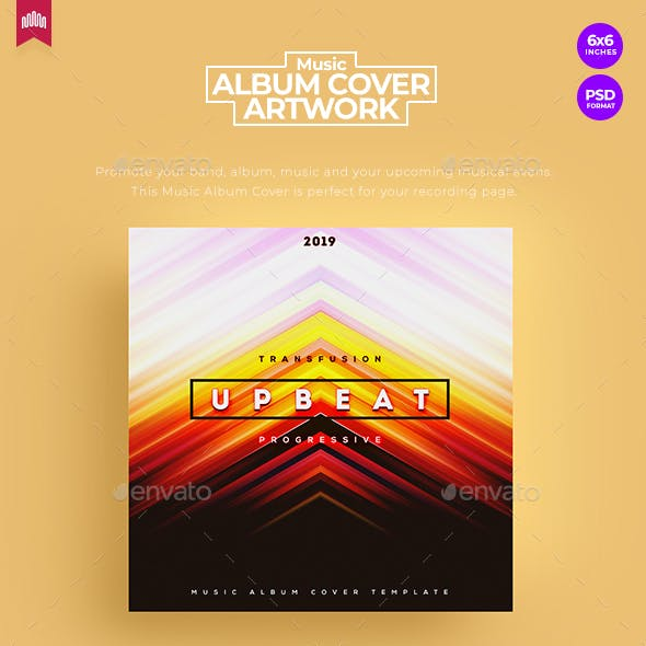 Upbeat - Music Album Cover Artwork