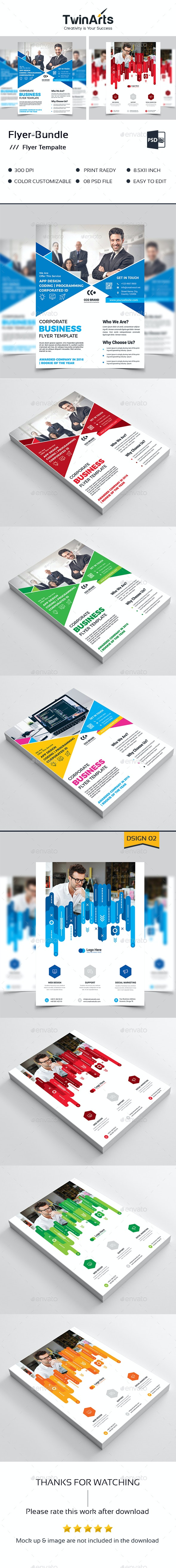 Flyer Bundle_2 in 1 - Flyers Print Templates