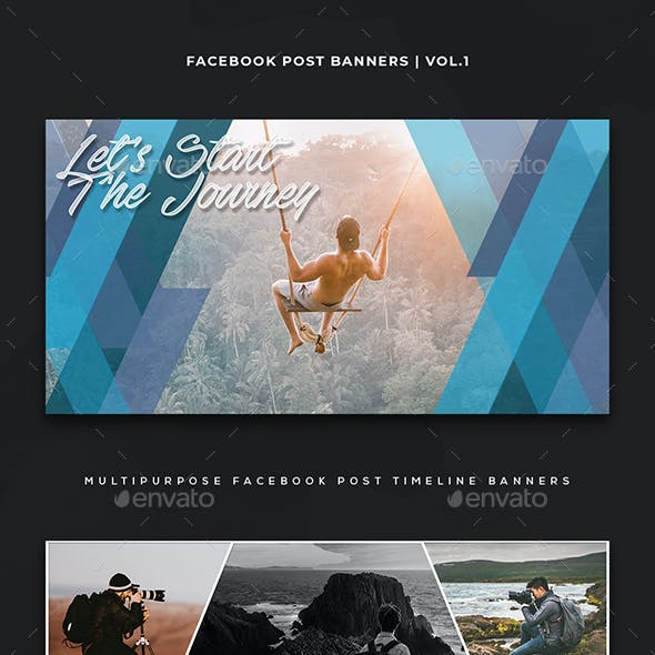 Facebook Post Banners Vol. 1
