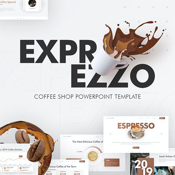 Exprezzo Cafe PowerPoint Template