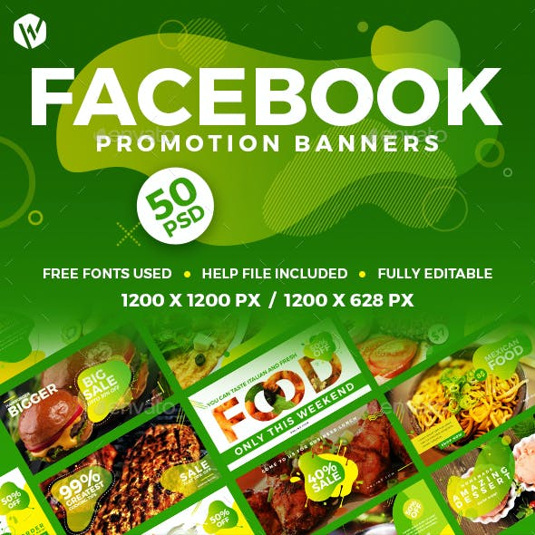 50 Facebook Food Banners
