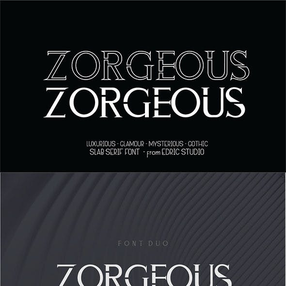 ZORGEOUS - Duo Luxurious Glamour Gothic