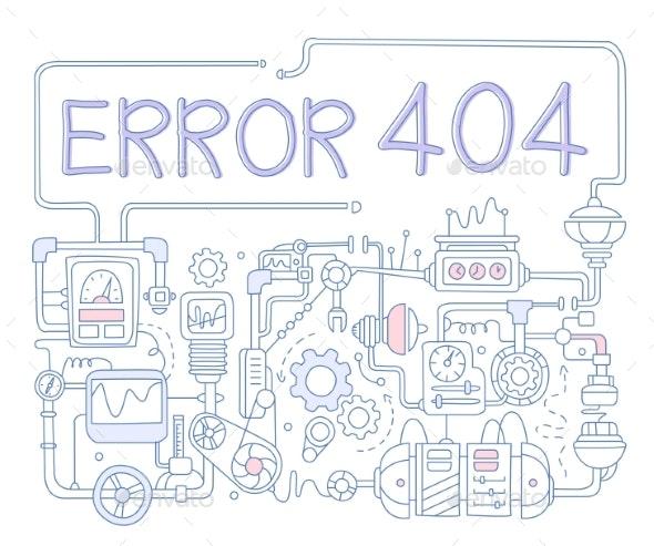 Error Infographics - Web Technology