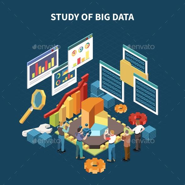 Isometric Big Data Analytics Composition - Miscellaneous Conceptual