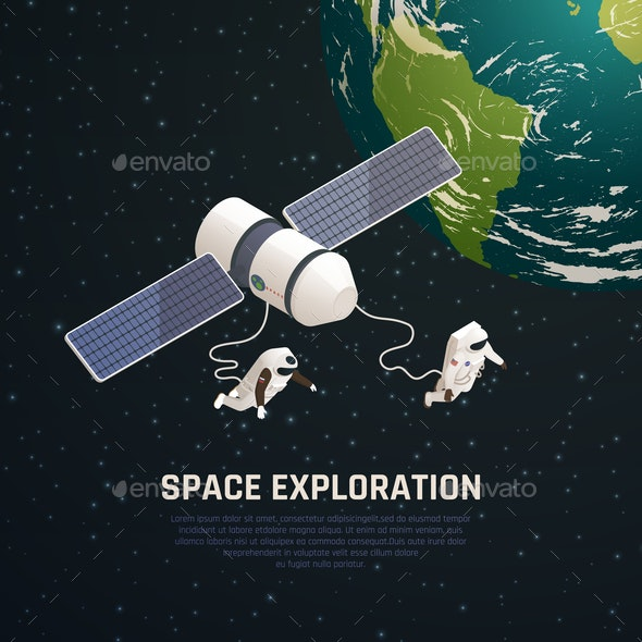 Space Exploration Background - Industries Business