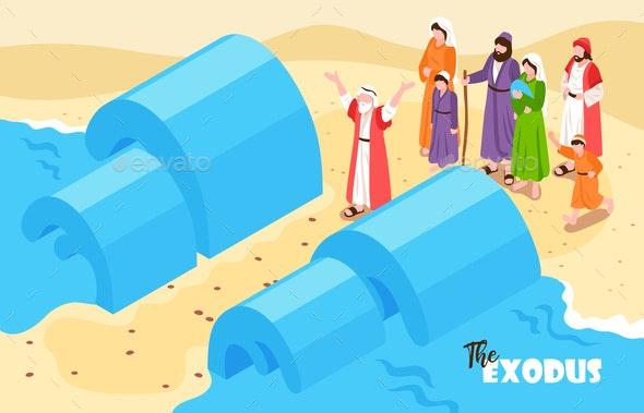Noah Flood Bible Background - People Characters