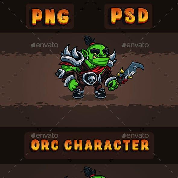 Orc Conqueror 2D Character