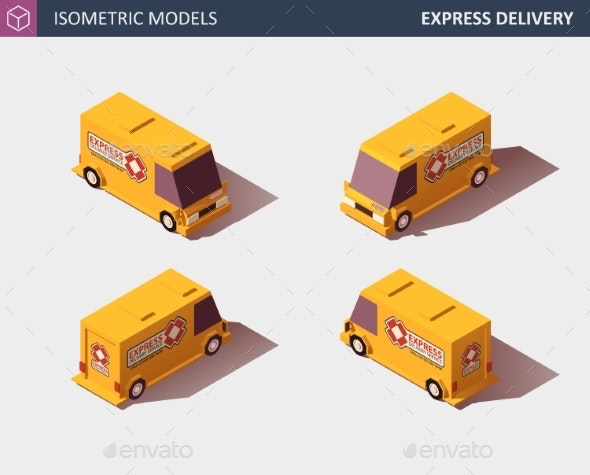 Cargo Truck Transportation Fast Delivery - Man-made Objects Objects