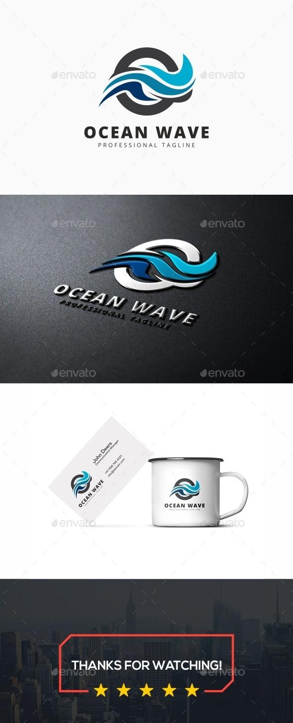Ocean Wave Logo - Nature Logo Templates