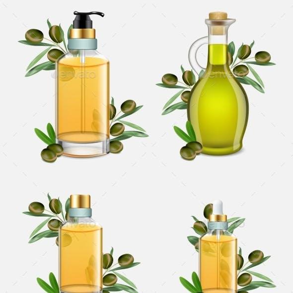Argan Oil Bottle Set