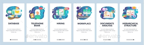 Mobile App Onboarding Screens Business - Concepts Business