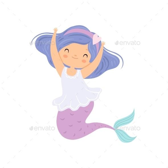 Mermaid Princess Character - People Characters