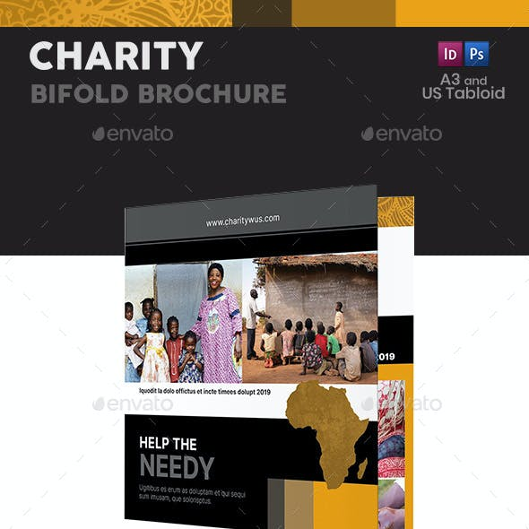Charity Bifold / Halffold Brochure